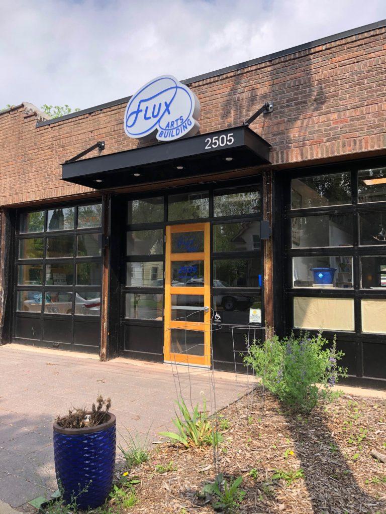Flux Arts Building entrance